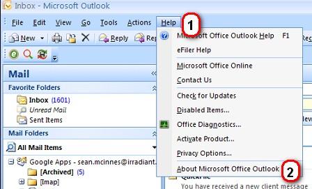 MS Office Outlook 2007 buy online width=