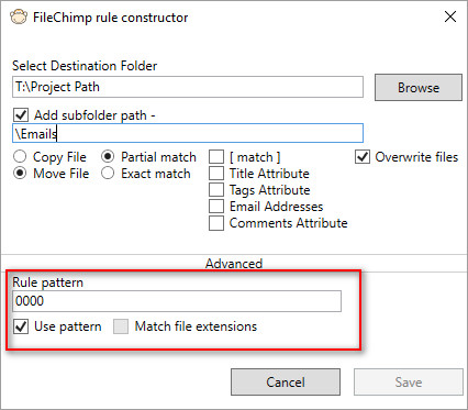 filechimp-pattern-rule